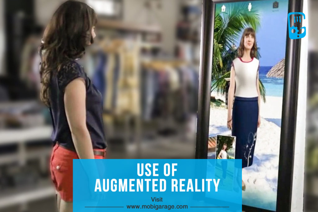 Use of Augmented Reality | MobiGarage