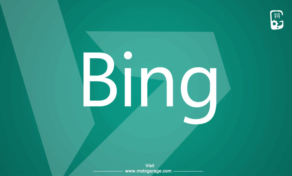 Bing Search Engine | MobiGarage