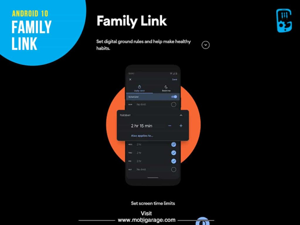 Android 10 Family Link | MobiGarage