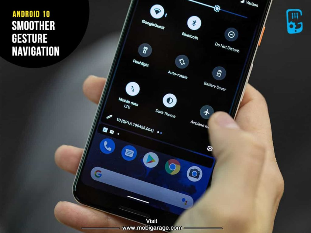 Android 10 Smoother Gesture Navigation | MobiGarage