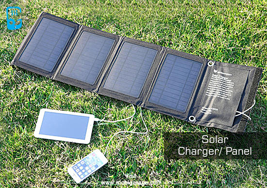 Smartphone Accessories - Solar Charger | MobiGarage