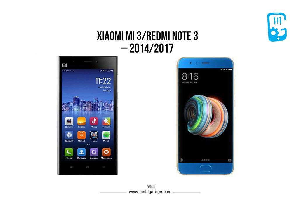 Xiaomi Mi 3/Redmi Note 3 | MobiGarage